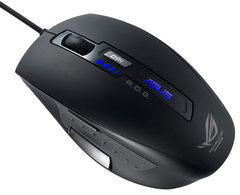 Mouse ASUS GX800 Laser USB BLACK 5 buttons  from 800 to 3200 dpi