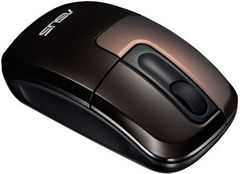 Mouse ASUS WT400 Cordless 2.4GHZ OPTICAL/Brown 1000 dpi