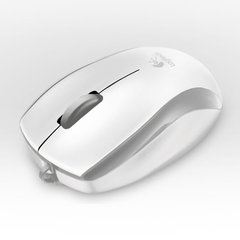 Logitech Mouse M125 Corded Optical SILVER USB