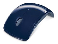 Mouse Microsoft ARC USB Blue (4btn+Roll, Laser, 1000dpi, 2.4Ггц)