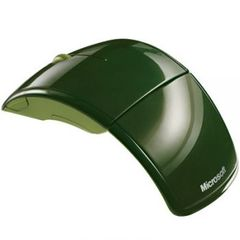 Mouse Microsoft ARC USB Green (4btn+Roll, Laser, 1000dpi, 2.4Ггц)