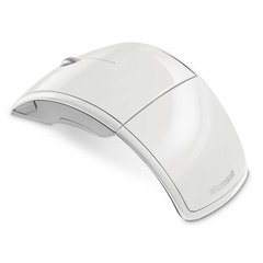 Mouse Microsoft ARC USB White (4btn+Roll, Laser, 1000dpi, 2.4Ггц)