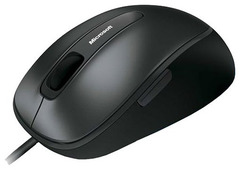 Mouse Microsoft Comfort 4500 USB Black Retail  (5btn+Roll, BlueTrack™)