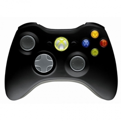 Джойстик X-Box 360 дистанционный Controller Wireless Microsoft (NSF-00002) черный